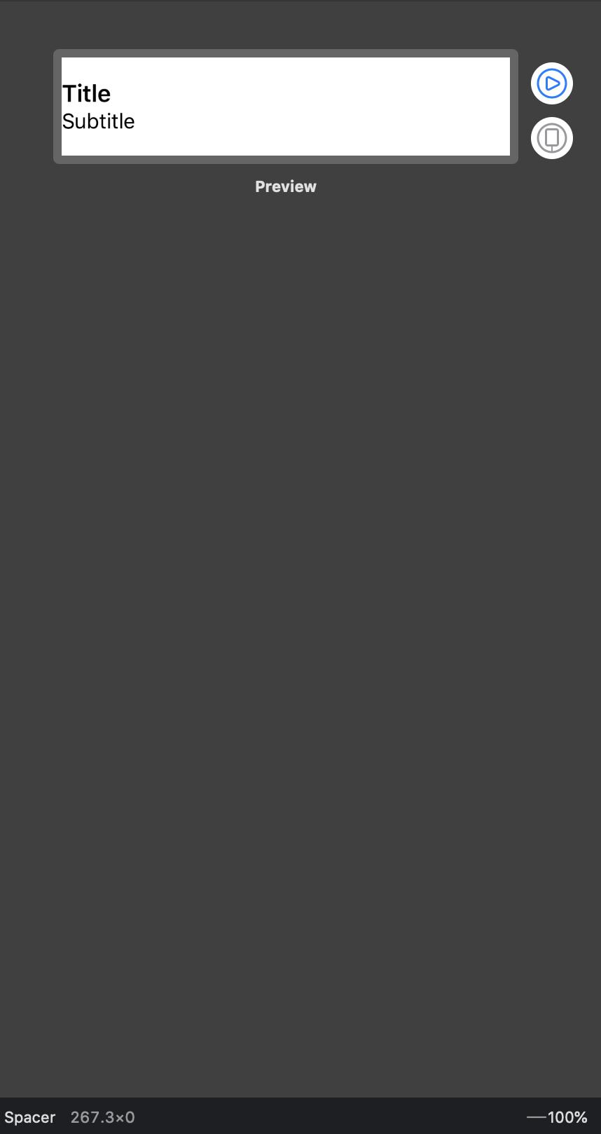Xcode Canvas screenshot