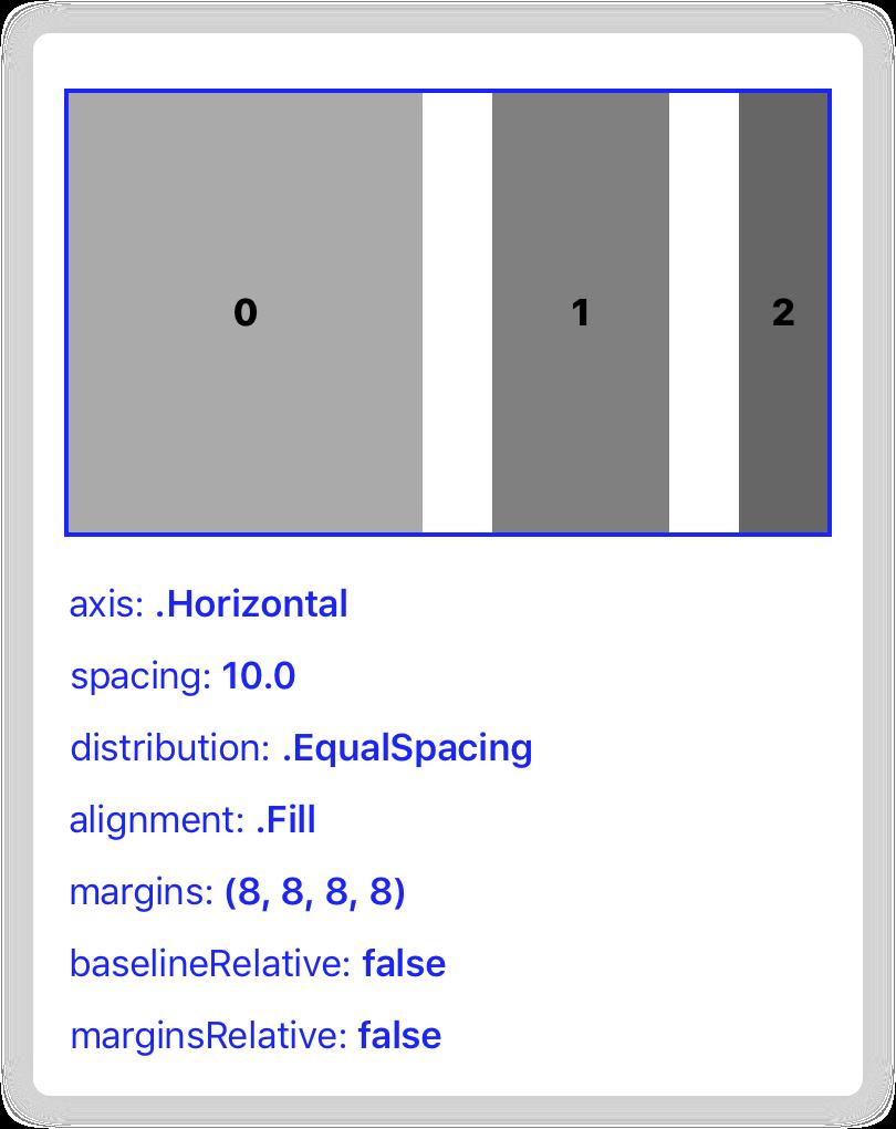 Stack view screenshot